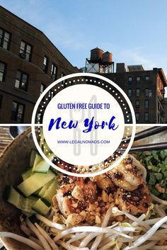 A celiac's guide to eating delicious foods in New York City. http://www.legalnomads.com/2013/08/gluten-free-nyc.html