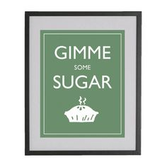 Gimme some sugar!