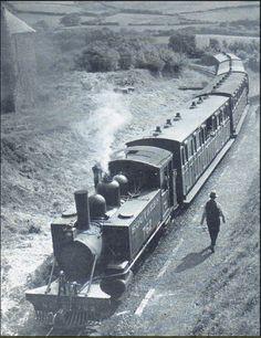 Baldwin 2-4-2 Narrow Gauge on Southern Rly, Lynton to Barnstaple