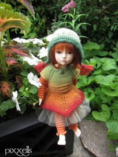 Citrus Fairy for Kaye Wiggs Tillie Lillie YOSD Iplehouse BID Elin by pixxells