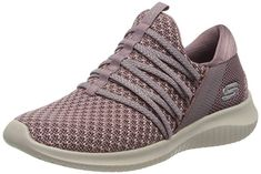 Shop a great selection of Skechers Women?s Ultra Flex-Bright Future Trainers. Find new offer and Similar products for Skechers Women?s Ultra Flex-Bright Future Trainers. Cute Sneakers, Wedge Sneakers, Casual Sneakers, Shoes Sneakers, Mauve, Wedge High Tops, Hush Puppies Women, Timberlands Women, Skate Shoes