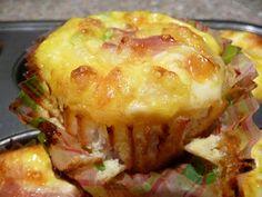 Hcg Diet Journey: Phase 3 Egg Muffins