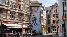 Brussel - Le Plattesteen (bistro) - Kolenmarkt