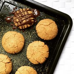 Chocolate Drizzle, Peanut Butter Cookies, Sweet Treats, Pumpkin, Halloween, Healthy, Easy, Desserts, Recipes