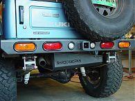Suzuki Samurai Rear Bumper Parachoques Para Jeep Vehiculo Todo