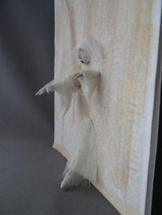 Ghost-Walking-through-wall-1-12-Haunted-Dollhouse-Miniature-OOAK-Pat-Benedict
