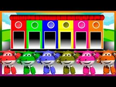 Colors for Children to Learn with Color Super Wings - Colours for Kids to Learn - Learning Videos - YouTube