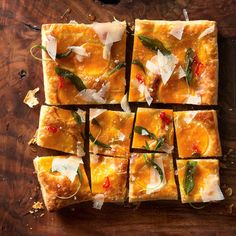 Butternut Squash Tart With Fried Sage | 29 Quick And Easy Oscars Party Appetizers