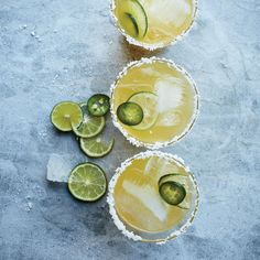 This best-ever spicy margarita punch gets flavor from jalapeño, cilantro and mint. Get the recipe at Food & Wine.