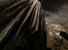 Concrezioni calcaree, grotta di Su Mannau, Flumini Maggiore - Iglesias