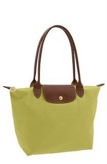 Longchamp Le Pliage small tote in bright colors, time for a new one!