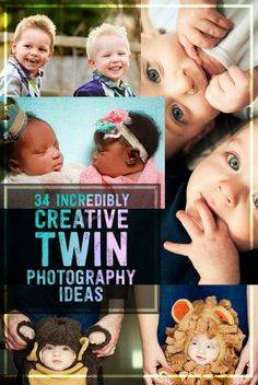 34 Beautiful And Creative Photography Ideas For Twins