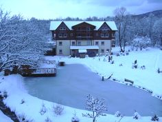 Christmas in Romania - Albota - Trout Complex Albota 4* is situated in a idilic location, under the Fagaras Mountains, at 55km away from the Sibiu airport