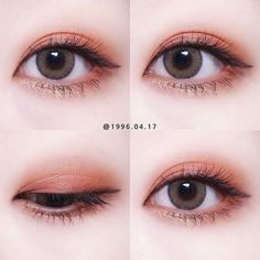 Pin von Cherilynn auf Make-up - Makeup Products Lipstick Kiss Makeup, Makeup Art, Makeup Eyeshadow, Eyeliner, Korean Makeup Look, Asian Eye Makeup, Kawaii Makeup, Cute Makeup, Makeup Trends