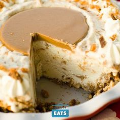 When you can't stand the heat of summer, cool off with this no-bake pie. There's nothing like the combination of salty and sweet, and this pie brings the two together in perfect harmony by combining creamy sweet vanilla ice cream with peanut butter and a pretzel crumb crust.