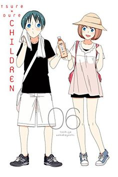 "Tsuredure Children tells various romantic stories about how it is so hard to say ""I love you"", between young male and female students attending the same high school, in an omnibus format. Otaku Anime, Anime Manga, Anime Art, Tsurezure Children, Children Images, Romance Art, Romance Anime, Anime Galaxy, Manga Covers"