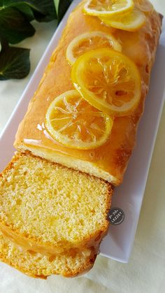Lemon Cake - One Slice of Flavor- Limonlu Kek – Bir Dilim Lezzet Lemon Cake – One Slice of Flavor - Banana Bread Recipes, Brownie Recipes, Cake Recipes, Dessert Recipes, Oreo Desserts, Easy Desserts, Chocolate Pudding, Chocolate Recipes, Pasta Cake