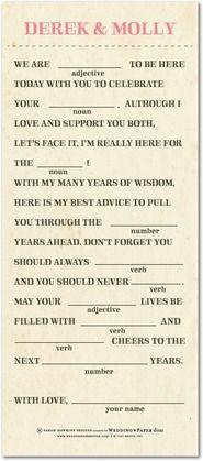 Wedding libs//