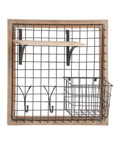 Look at this Wire Storage Rack on #zulily today!