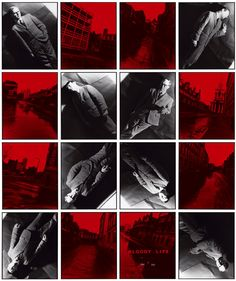 Artists: Gilbert and George (Bloody Life series)