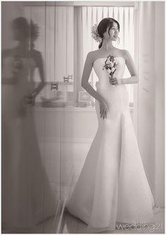 [웨딩드레스] ① 6월의 아름다운 웨딩드레스 컬렉션,제이드블랑