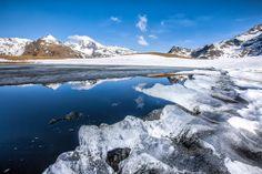 Paesaggi in #Valtellina. Lago Degli Andossi in #Valechiavenna, Valle Spluga