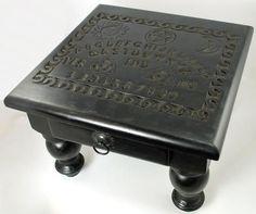 """Spirit Board Altar Table W- Drawer 12""""sq"""