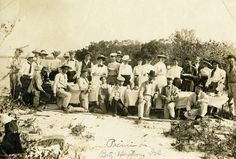 Koreshan Unity picnic on Big Hickory Island | by State Library and Archives of Florida