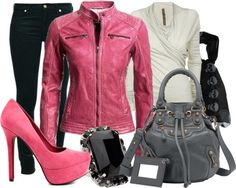 """""""Pretty in Pink"""" by dimij on Polyvore"""