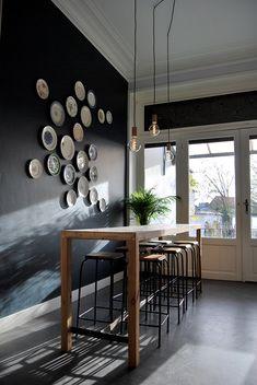 Decoration, Bar, Brussels, Table, Design, Furniture, Home Decor, Canteen, Decor