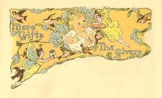 Antique Images: Free Baby Clip Art: Vintage Baby Illustration from...