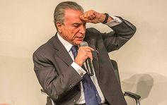 Valente para cobrar cargos, Michel Temer cala no dia em que PF cerca PMDB