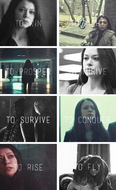 Sarah Manning: i came to fly #orphanblack