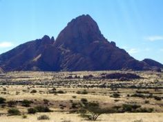 Spitzkoppe area is run by a women's cooperative