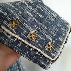 Couture et Tricot: Denim Couture Jacket: The long awaited sleeve cuff detail pictorial - Fotos dos detalhes do punho da jaqueta, tany…