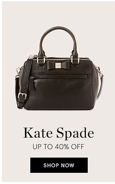 Save Up to 40% Off Women's Kate Spade