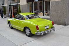 Karmann Ghia ~When I was in High school I learned to drive stick in one of these babies! #goodtimes