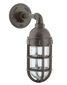 Atomic Topless Industrial Guard Sconce