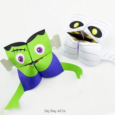 Halloween Cootie Catchers – Origami for Kids