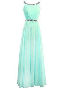 Dress U Scoop Neckline Off-shoulder Chiffon Crystals Prom Dress Long Evening Gown Mint US 2 Dress U http://www.amazon.com/dp/B00VW9SLXQ/ref=cm_sw_r_pi_dp_F2gkvb0B4DWRD