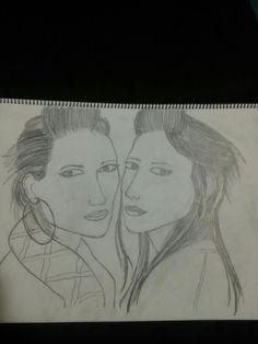 The Veronicas Interpretation Drawing