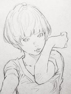 Link permanente da imagem incorporada Anime Drawings Sketches, Cool Sketches, Manga Drawing, Dibujos Cute, Manga Illustration, Les Oeuvres, Line Art, Art Reference, Cool Art