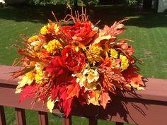 Fall Headstone Saddle