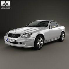Mercedes-Benz SLK-class 2000 3d model from humster3d.com. Price: $75