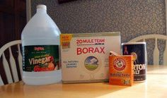 Use the household products to get rid of musty basement smells