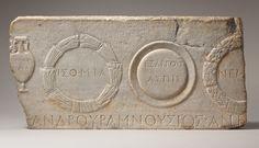 Relief fragment depicting athletic prizes [Roman] (59.11.19) | Heilbrunn Timeline of Art History | The Metropolitan Museum of Art