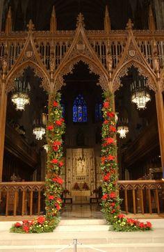 Christmas-Interior Design Church # FAITH via ARIA