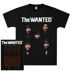 @TheWanted Double Agents T-Shirt