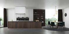 Diseñamos cocinas para grandes espacios.