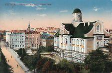 Beuthen, Kaiserplatz mit Ober-Realschule